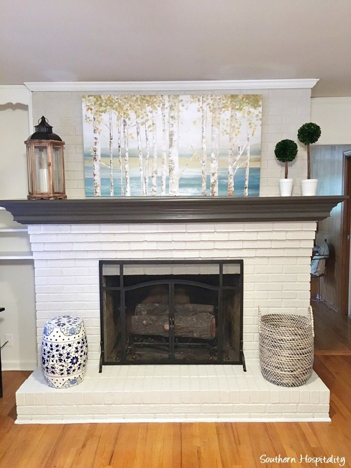 33 best images about Fireplace wall on Pinterest  Painted brick fireplaces Fireplaces and Wood