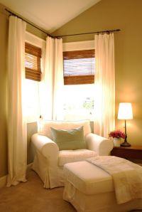 17 Best ideas about Corner Curtains on Pinterest