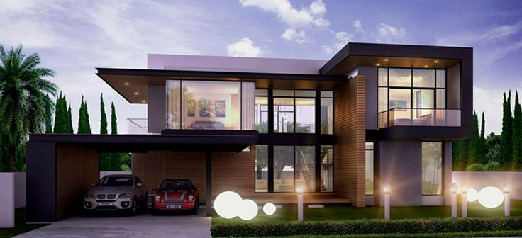 Modern Residential House Conceptual Design Ideas For The House