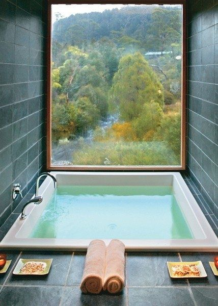 Once a week for 20 minutes, sit in a hot bath that contains a handful of Epsom s