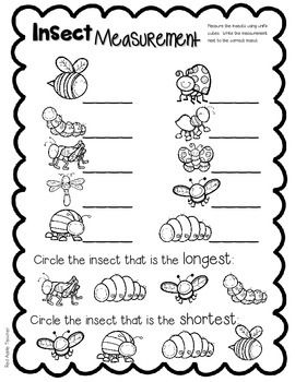 FREEBIE-Insect Measurement Math Center for... by Red Apple