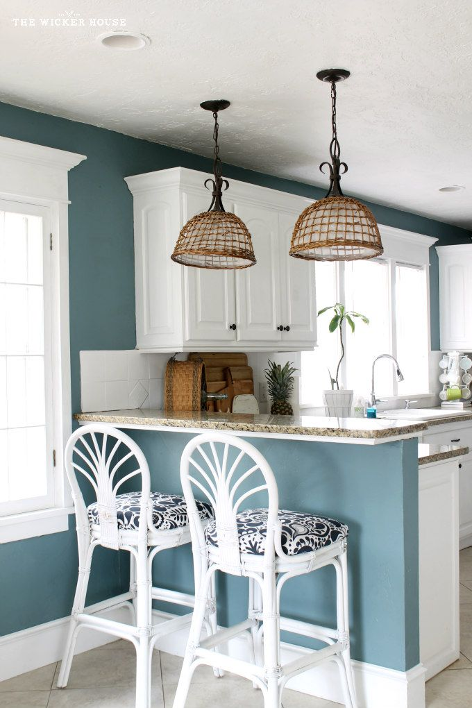25+ best ideas about Blue walls kitchen on Pinterest