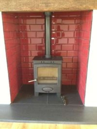 Heat Resistant Tiles For Fireplaces. Fireplace Surround ...
