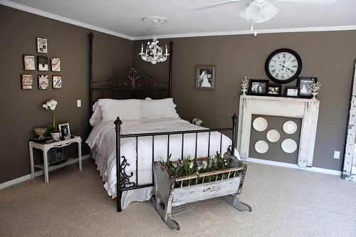 Chip Amp Joanna Gaines Farmhouse Master Bedroom Homes