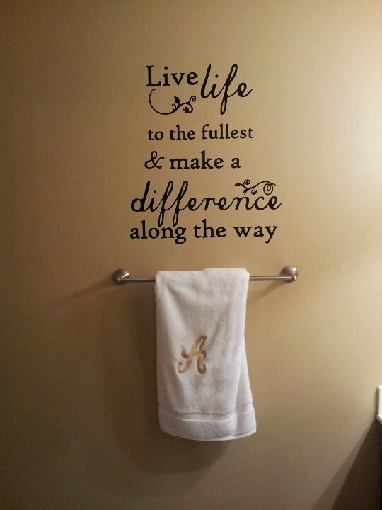 Funny Bathroom Wall Quotes Quotesgram