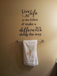 Quote on my Bathroom wall. | Meaningful Quotes | Pinterest ...