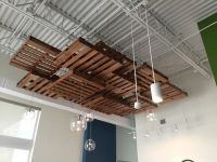 25+ Best Ideas about Pallet Ceiling on Pinterest