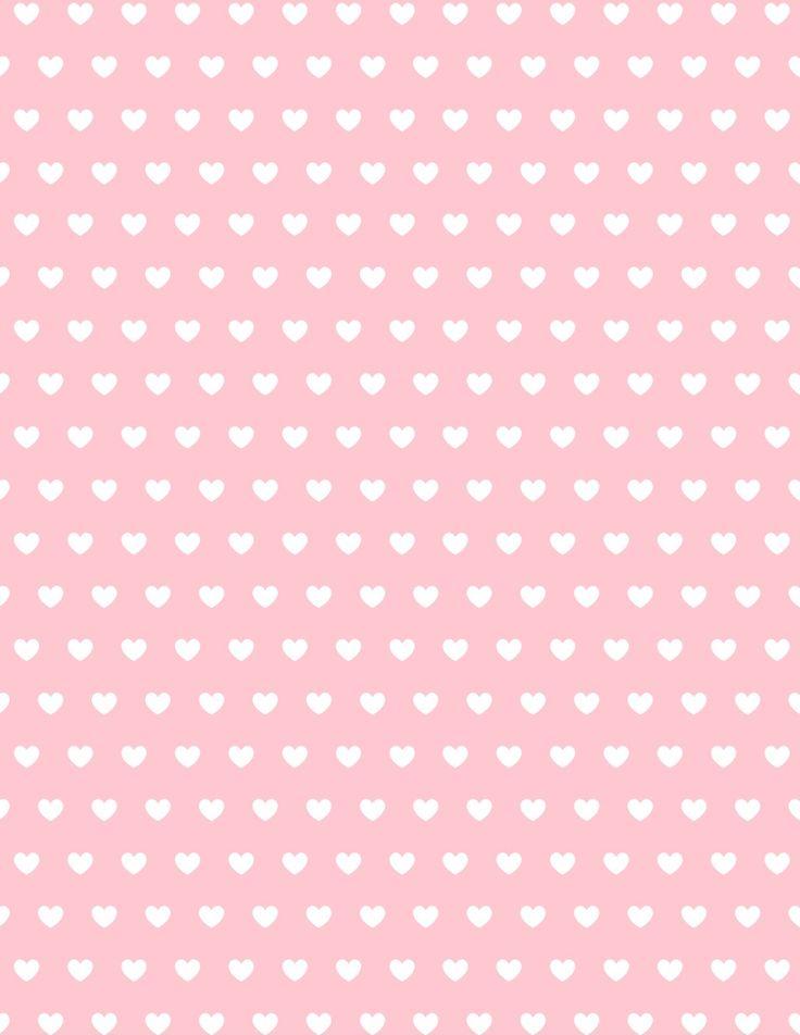 Cute Patrick Star Wallpaper Free Valentine Hearts Scrapbook Paper Paper Valentine