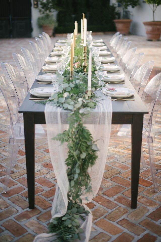 half circle chair espresso table and chairs best 25+ moss runner ideas on pinterest   centerpiece wedding, woodland wedding ...