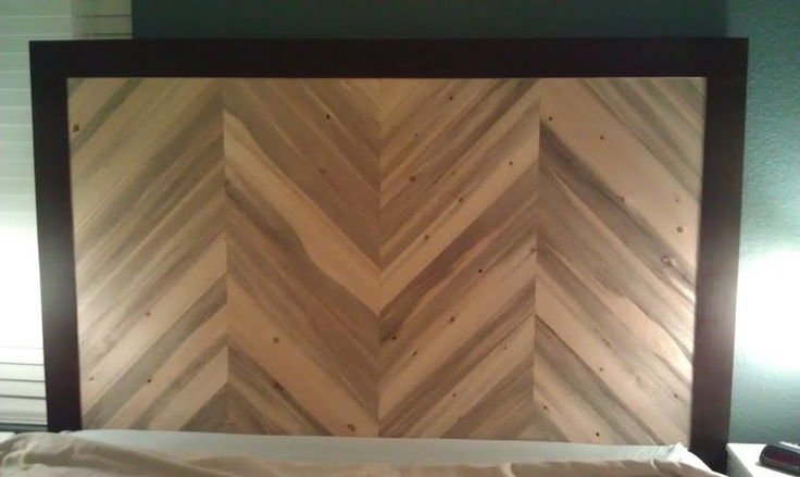 Headboard Easy To Make Pick Any Wood This Is Beetle