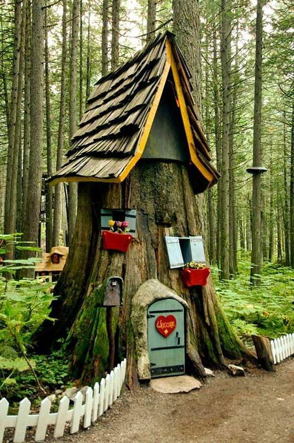25 Best Ideas About Tree Garden On Pinterest Gnome Desktop