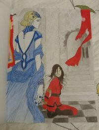Pin by Hannah Aries on Red Queen coloring book   Pinterest
