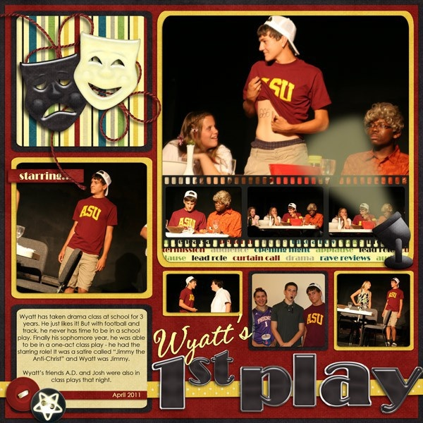 13 Best Images About Scrapbook Pages Music And Theater On