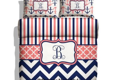 Nautical Anchor Bedding
