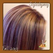 queenofcute39s tri colored hair