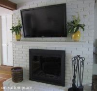 Installing A Fireplace Mantel - WoodWorking Projects & Plans