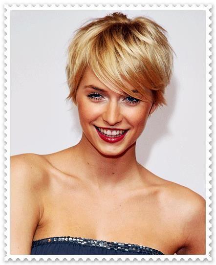 Best 25 Frisuren Kurz Blond Ideas On Pinterest