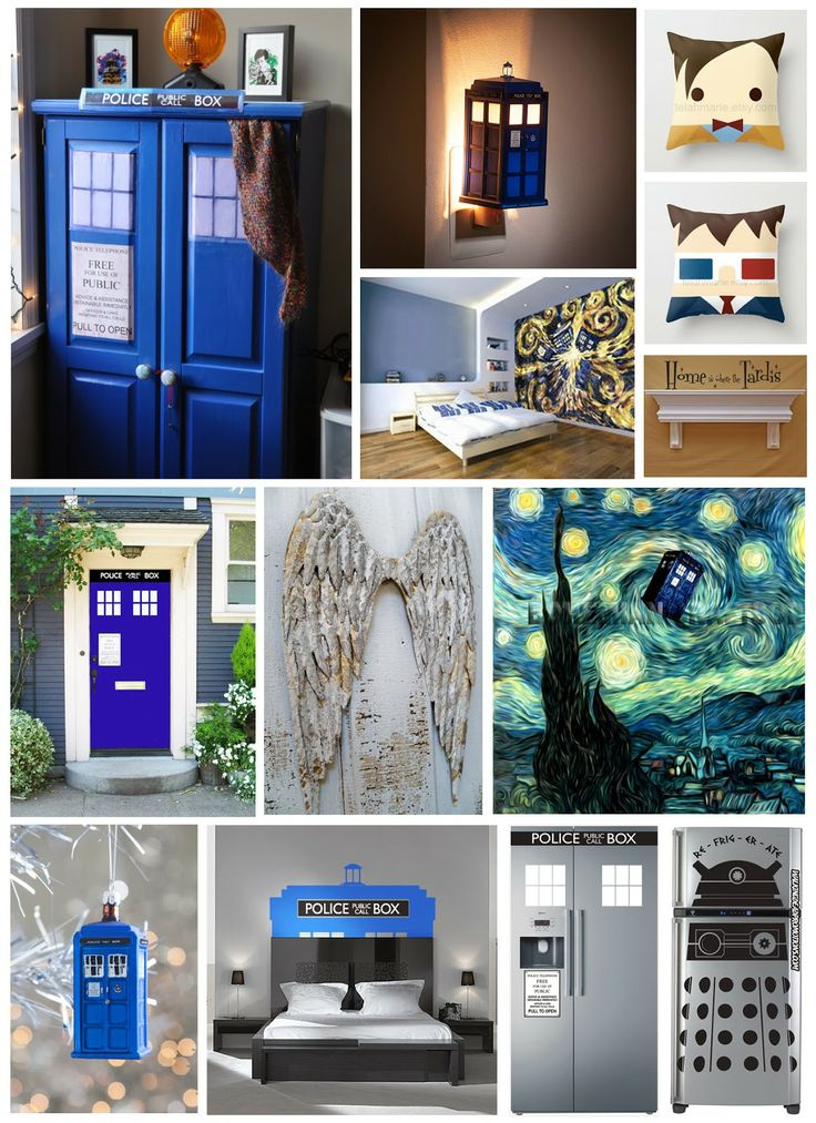 17 Best ideas about Doctor Who Bedroom on Pinterest