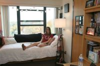 Student room at the Willkie Residence Center | Willkie ...