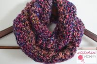 Neon Lights Infinity Scarf for Girls | Easy patterns ...