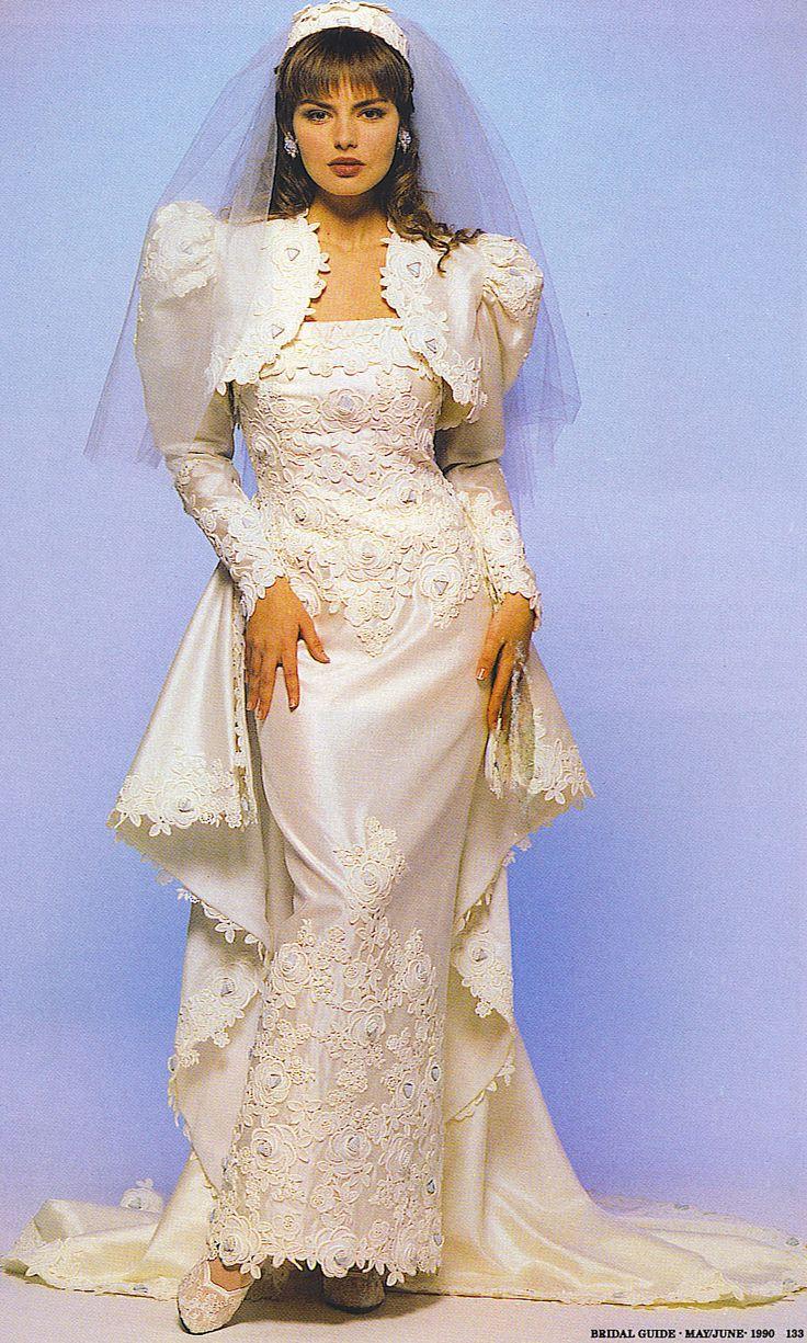1000 ideas about 1980s Wedding Dress on Pinterest  1980s Wedding 1970s Wedding Dress and