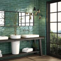 30 Fantastic Emerald Green Bathroom Tiles | eyagci.com