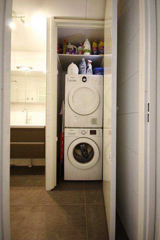 Kast Voor Wasmachine En Droger Op Elkaar
