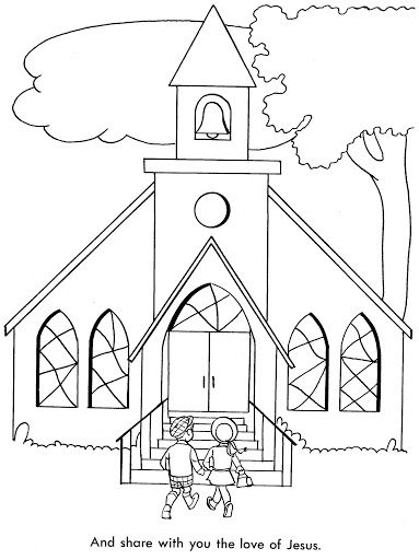 17 Best images about Crafts-Coloring 02-Church/Children on