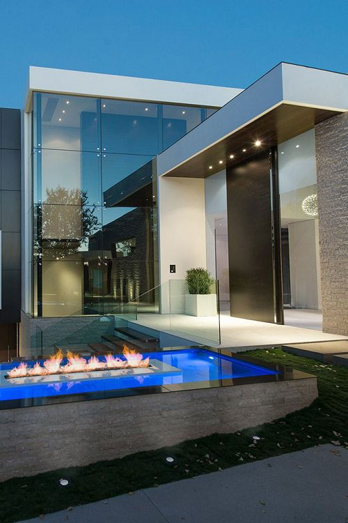 Beautiful Modern Luxury Home  BeverlyHills  Laurel Way by Whipple Russell Architects