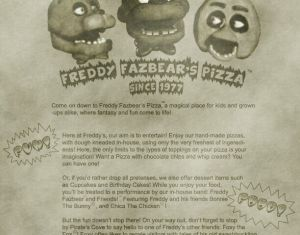 Freddys Fazbears Pizza Phone Number