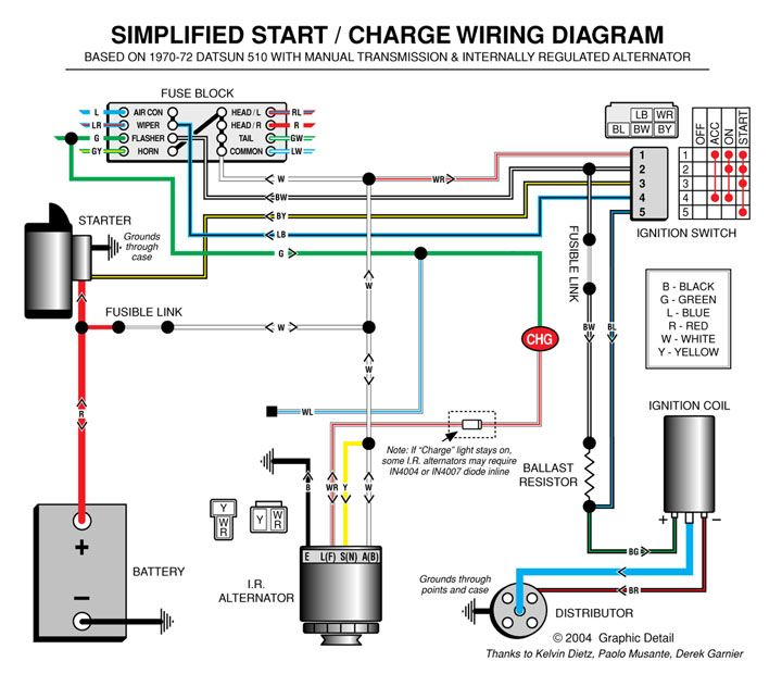 automotive amp meter wiring diagram solar pv system alternator   boat electronics pinterest engine and cars