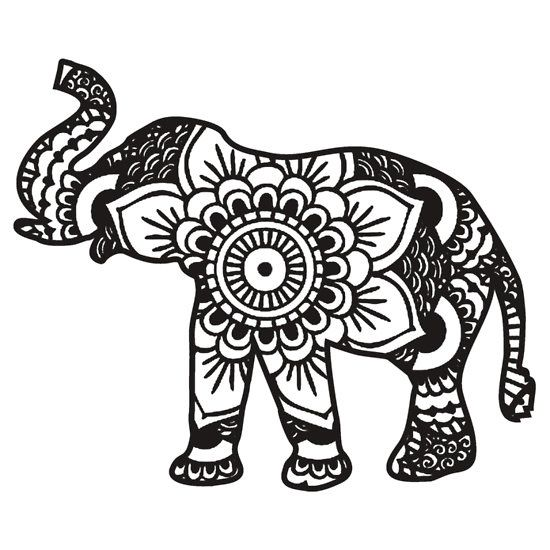 1000+ ideas about Henna Elephant Tattoos on Pinterest