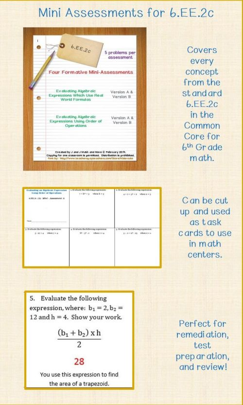 small resolution of Sixth Grade Math Common Core Breakdown   Mixminder