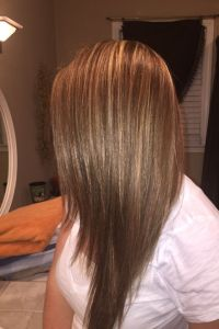 Color & highlights. 7w 7n matrix socolor. | Hair & Beauty ...