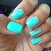 aqua nails ideas