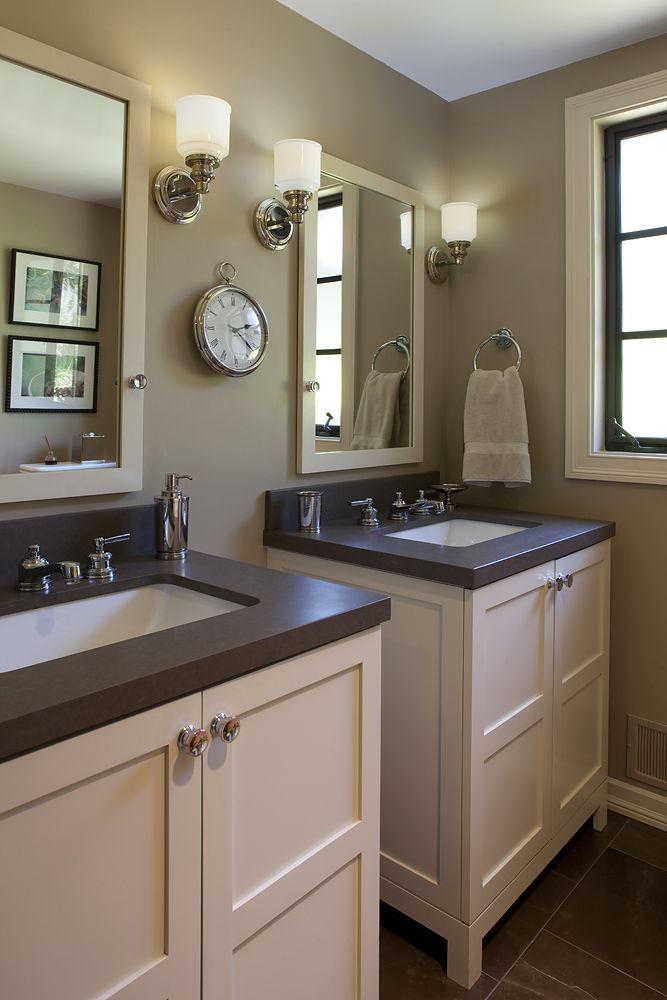 2 vanities side by side vs one big one  Bathrooms