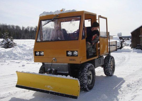 cool plow truck Andy39s homemade truck project Movin