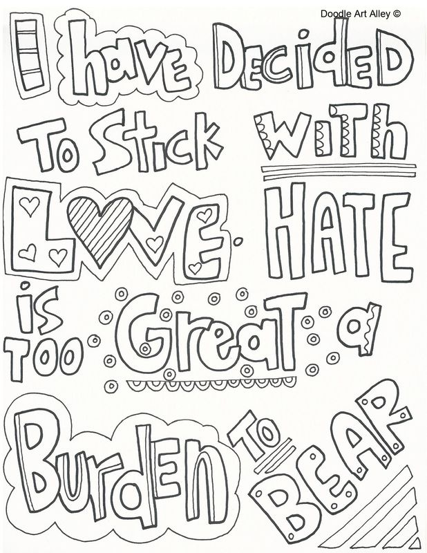 1000+ images about WORDS coloring pages on Pinterest