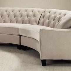 Home Decorators Tufted Sofa Savoy Debenhams Riemann Curved Sectional - Sofas And Loveseats ...