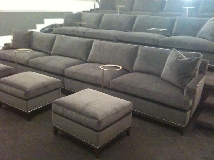 love these hickory chair extra long sofas for a screening
