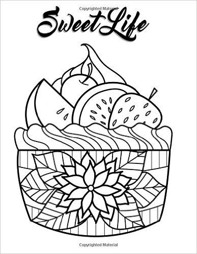 66 best images about Cupcakes + Cakes Coloring Pages for