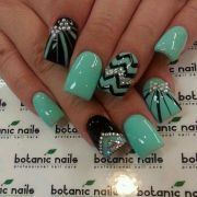 #nailart cute bling