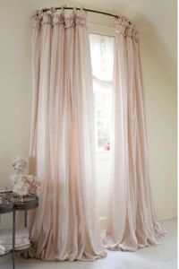 Curved Curtain Rod For Bed Canopy | Curtain Menzilperde.Net