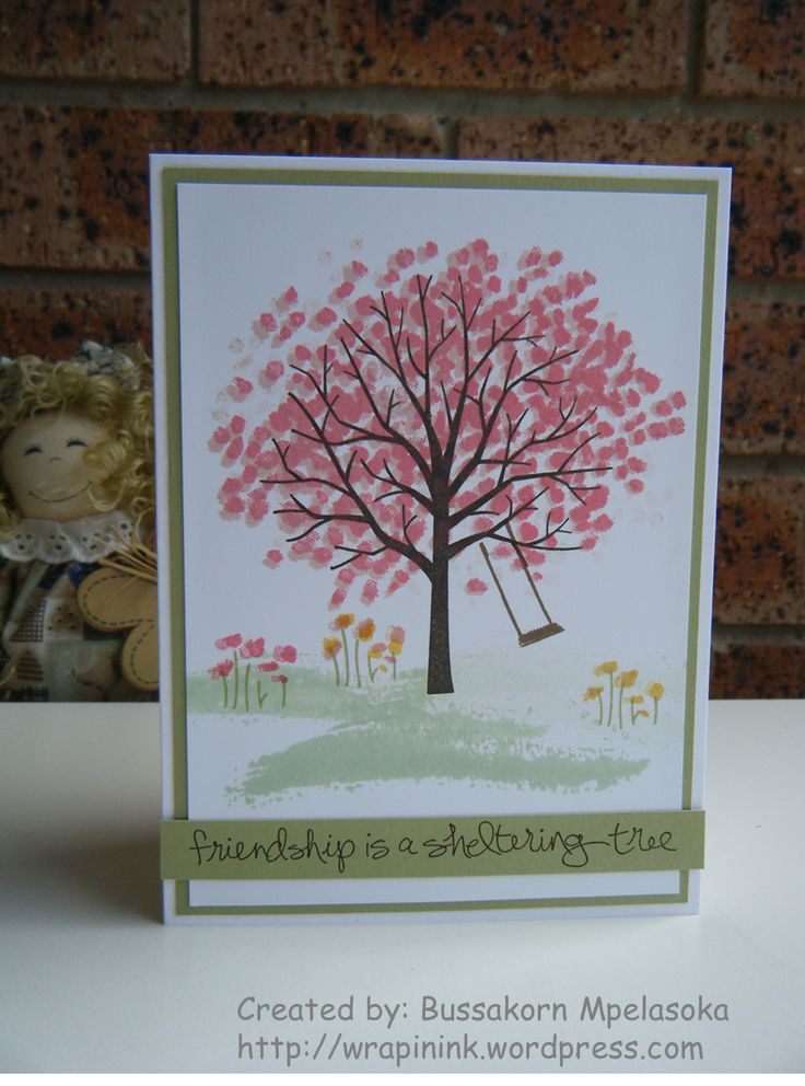 398 Best Images About Stampin Up Sheltering Tree On