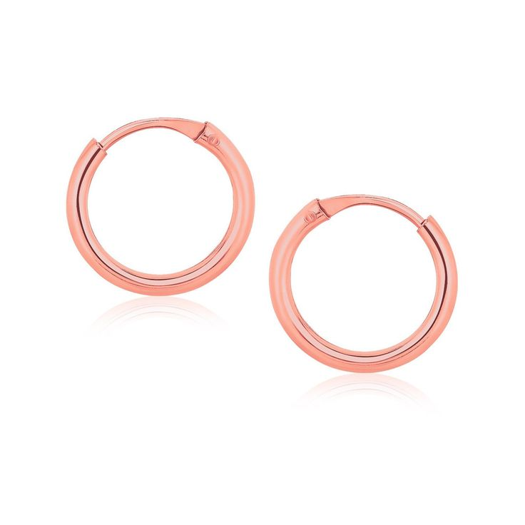1000+ ideas about Small Gold Hoop Earrings on Pinterest