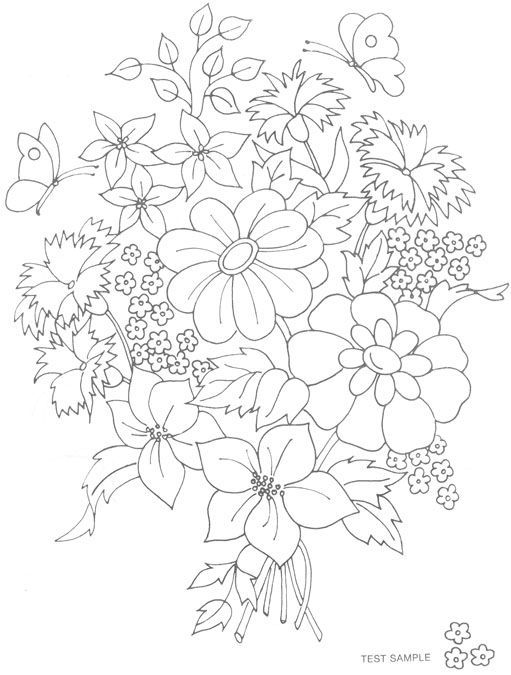 25+ best ideas about Floral embroidery patterns on