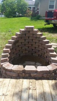 Retaining wall blocks, Fire pits and Retaining walls on ...