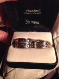 25+ best ideas about Harley Davidson Wedding Rings on ...