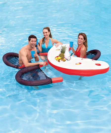 floating pool chairs with cup holders two person chair 17 best images about floats on pinterest | floats, lakes and lake