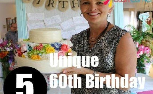 5 Unique 60th Birthday Ideas For Mom Diy Pinterest